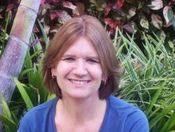 Christa von Hillebrandt-Andrade, manager of the NOAA NWS Caribbean Tsunami Warning Program and 2011-2012 President of the Seismological Society of Ame Photo