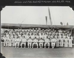 Officers and crew of the C&GS Ship FATHOMER Photo