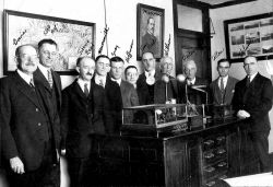 Members of the San Francisco Weather Bureau Office about 1925 Photo