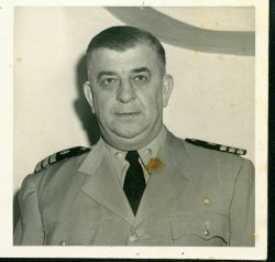 CDR Carl Mast in late 1940's. Photo
