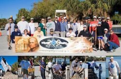 Greetings from Tampa Bay where local NOAA staff joined with habitat restoration partner Tampa Bay Watch for two days of oyster-reef building Photo