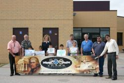 The Dodge City National Weather Service Forecast Office sponsored an Earth Day poster contest among local elementary schools with the theme