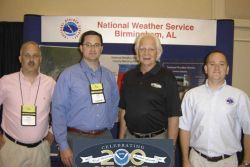 Greetings from the Central Gulf Coast! NOAA's National Weather Service Forecast Office in Birmingham, Alabama represented the NWS offices serving the  Photo