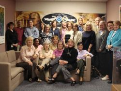 NOAA librarians take time out from the books to send greetings from the Annual NOAA Libraries Conference Photo