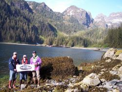 Early each summer NOAA Emergency Response Division scientists conduct one or more surveys of shorelines in western Prince William Sound, Alaska, to do Photo
