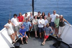 Researchers from NOAA's Center for Coastal Fisheries and Habitat Research have conducted an annual research cruise aboard NOAA Ship Nancy Foster to Pu Photo