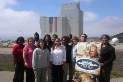 Representatives from the NPOESS Integrated Program Office Management Operations Division recently visited Vandenberg Air Force Base in California to l Photo