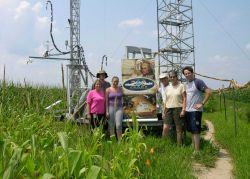 Greetings from the (corn) field! The Air Resources Laboratory is collaborating with the U.S Photo