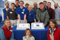 A celebration greetings from the Inland Northwest! A celebration at NOAA's National Weather Service Forecast Office in Spokane attracted 400 visitors Image