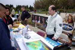 Greetings from the National Weather Service in Monterey, California! The National Weather Service participated in a recent Emergency Preparedness Fair Photo