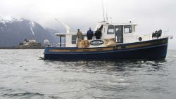 Marine archaeologists from NOAA and the state of Alaska conducted a survey in May of the wreck of the former U.S Photo
