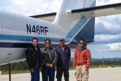 Two National Geodetic Survey field parties combined with crews from the Office of Marine and Aviation Operations Aircraft Operations Center to perform Photo