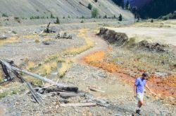 Blackbird Creek, on the left Photo