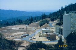 Treatment plant at Minnesota Flats to treat AMD from the Richmond and Lawson Portals Photo