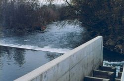 A vertical slotted weir at Coleman National Fish Hatchery Image