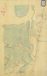 Preliminary sketch map of showing siege operations against Fort Wagner between July 18 and September 7, 1863. Photo