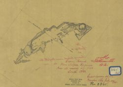 Fortifications on Craney Island, Elizabeth River, Virginia, by Assistant A.M Photo