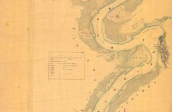 Portion of T-Sheet that went into construction of Mississippi River Sheet No Photo