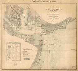 General Map of Charleston Harbor South Carolina Showing Rebel Defences and Obstructions Photo