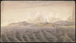 Painting of Cape Foulweather by AWC 1868 Photo