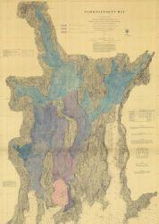 Chart of Narragansett Bay Photo