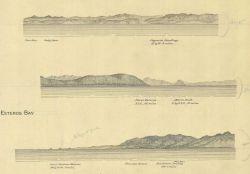 Coastal views of Cayucos Landing, Point Esteros from the north, Point Piedras Blancas, and San Simeon Photo