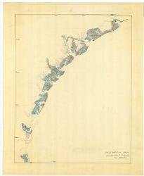 A Civil War preliminary map of the coast of South Carolina and Georgia. Photo