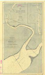 Chart of Passaic River, Newark Bay to Belleville Photo