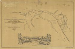 Published view of Approaches to Fort Hindman, Arkansas Post on the Arkansas River Photo