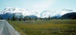Some of the scenes on a road trip on the Kenai Peninsula Photo
