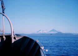 Pavlof Volcano on the Alaska Peninsula Photo
