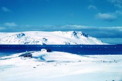 The old base camp G at Admiralty Bay, King George Island Photo
