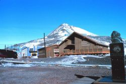 Antarctic headquarters of the National Science Foundation at McMurdo Sound Photo