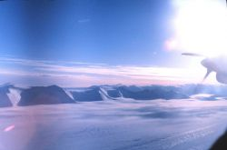 The Transantarctic Mountains. Photo
