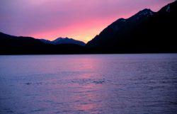 A Southeast Alaska sunset Photo
