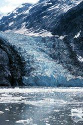 Glacier Bay - Johns Hopkins glacier calving Photo