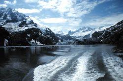 Departing Johns Hopkins Glacier on JOHN N Photo