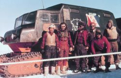 The Minnesota Camp to Byrd Station traverse crew Photo