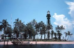 The Hillsboro Lighthouse at Pompano Beach Photo