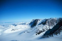 A segment of the Transantarctic Mountains Photo