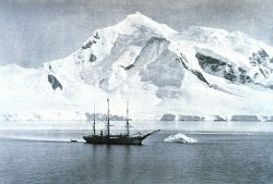 The BELGICA anchored at Mount William Photo