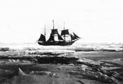LA BELGICA in the ice on March 5, 1898 Photo