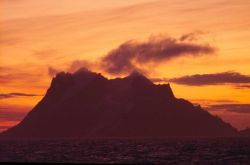 Elephant Island at Sunset Photo