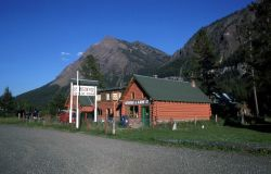 Post Office in Silver Gate, Montana Photo