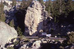 Loop drive at the Hoodoos - Geology Photo