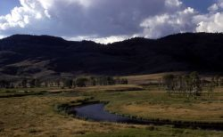 Slough Creek oxbow - Geology Photo