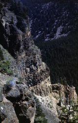 Yellowstone Canyon, Tower Fall area Photo