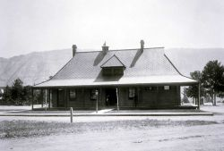 Guard House at Fort Yellowstone built in 1891 Photo