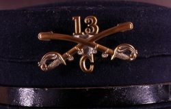 US Cavalry insignia - -13 pin on hat Photo