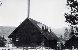 Yellowstone Park Hotel Company laundry at Old Faithful Photo